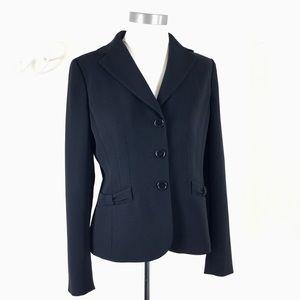 Ann Taylor Black Blazer Jacket Size 8